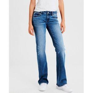 American Eagle Favorite Boyfriend Bootcut Jeans 14